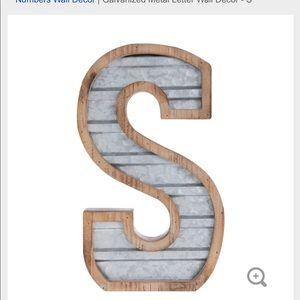 Hobby Lobby Rustic Letters S, A, V, O, R